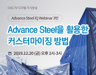 [Advance Steel IQ Webinar 3탄] 내가 원하는 ..